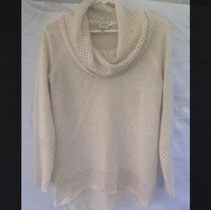 CUPIO COWL NECK SWEATER